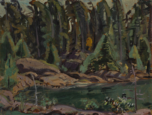 Quiet Cove, Mcgregor Bay by Arthur Lismer (1885-1969, United Kingdom) |  | WahooArt.com