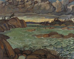 Arthur Lismer - Rain In The North Country