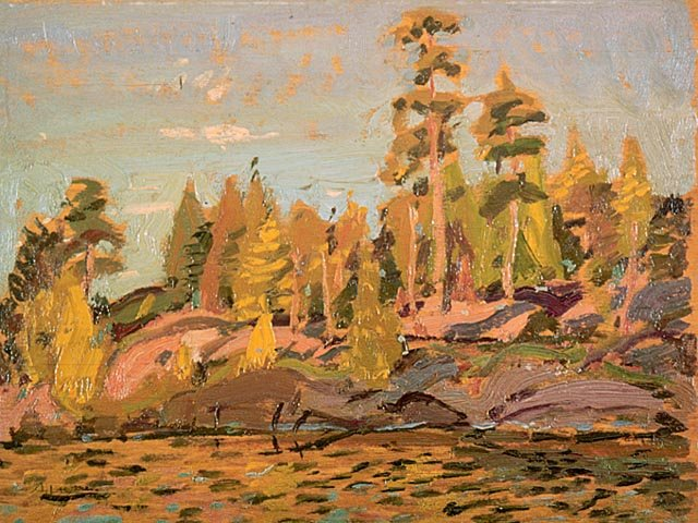 Shore by Arthur Lismer (1885-1969, United Kingdom) | WahooArt.com