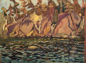 Arthur Lismer - Shoreline, Georgian Bay