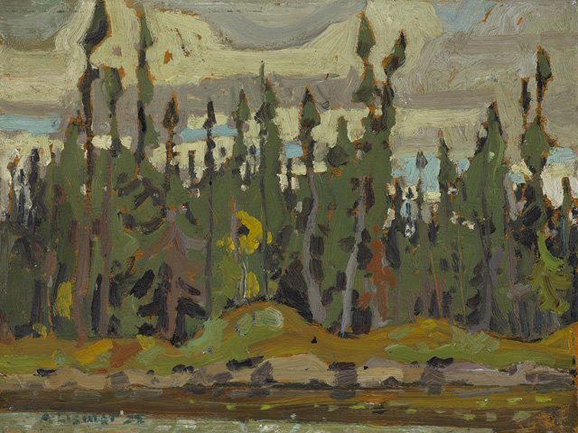Spruce, Sand Lake, Algoma by Arthur Lismer (1885-1969, United Kingdom) | Painting Copy | WahooArt.com