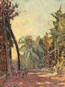 Arthur Lismer - Study For Road Through The Bush