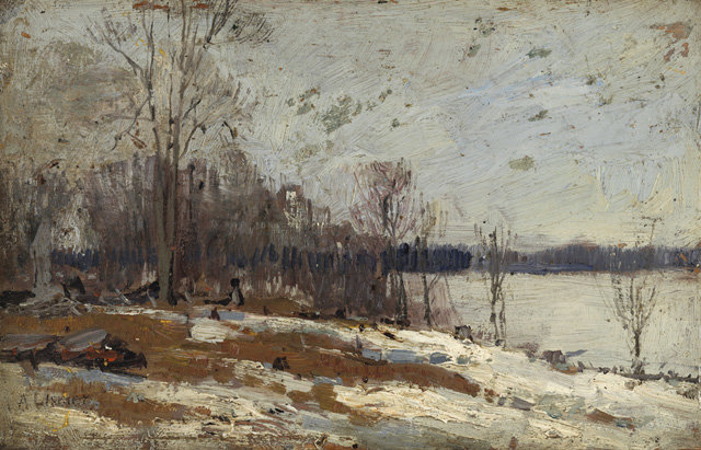 The Banks Of The Don by Arthur Lismer (1885-1969, United Kingdom) | Famous Paintings Reproductions | WahooArt.com