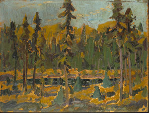 Arthur Lismer - The Little Pool, Algoma