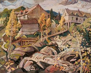 Arthur Lismer - The Mill, Quebec