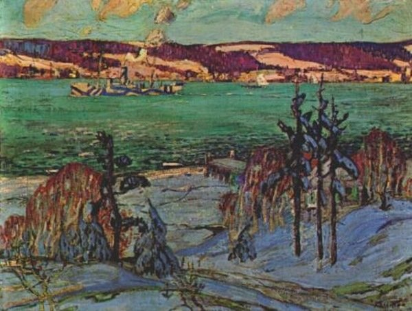Winter Camouflage by Arthur Lismer (1885-1969, United Kingdom) | Art Reproduction | WahooArt.com