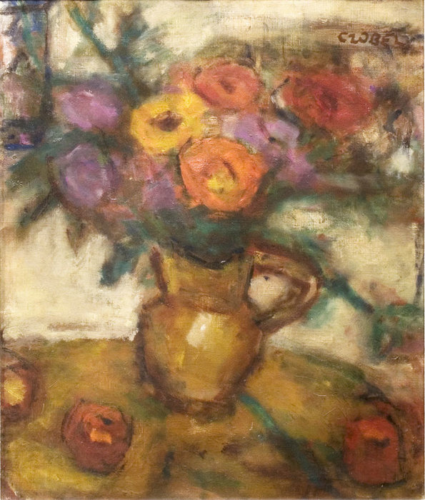 Bouquet by Bela (Adalbert) Czobel (1883-1976, Hungary)