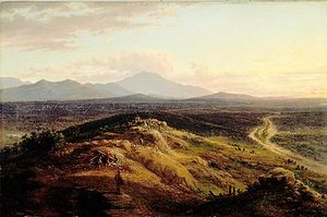 Eugene Von Guerard - The Gold Diggings At Ararat