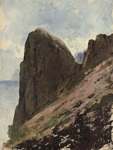 Franz Alexeevich Roubaud - View From A Cliff-top
