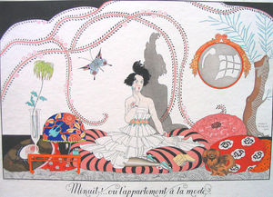 Georges Barbier - Minuit! ... Ou L'appartement A La Mode
