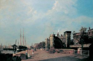 Henry Pether - Gun Wharf, Tower Of London