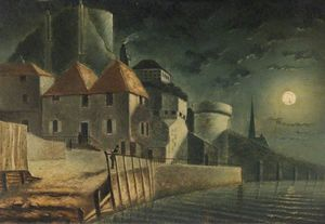 Henry Pether - Northwest Corner Of Town Walls