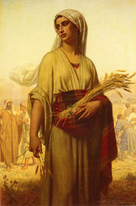 Hugues Merle - Ruth In The Fields