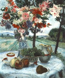 Istvan Csok - Still-life With Plough-land