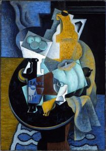 Jean Dominique Antony Metzinger - Fruit And A Jug On A Table