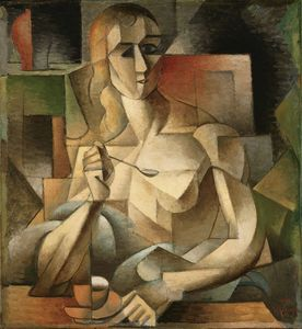 Jean Dominique Antony Metzinger - Le Goûter (tea Time)
