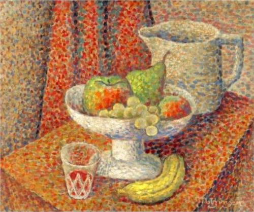 Nature Morte by Jean Dominique Antony Metzinger (1883-1956, France)