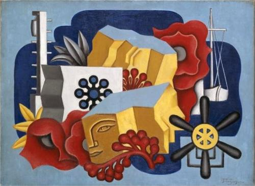 Nautical Still Life by Jean Dominique Antony Metzinger (1883-1956, France)