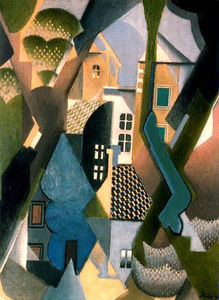 Jean Dominique Antony Metzinger - The Village