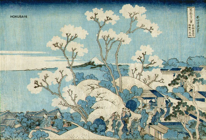Early by Katsushika Hokusai (1760-1849, Japan)