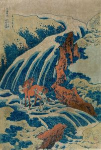 Katsushika Hokusai - The Waterfalls Of Various Provinces
