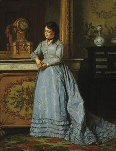 Ladislaus Bakalowicz - The Blue Dress
