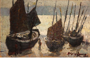 Richard Hayley Lever - Fishing Boats