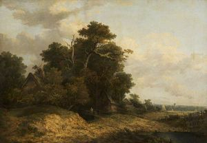 John Paul - Landscape Scene In Norfolk