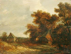 John Paul - Landscape With A Cottage