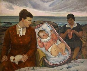 Leon Kroll - The Baby