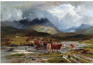 Louis Bosworth Hurt - After The Storm, Glendochart