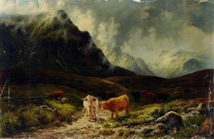 Louis Bosworth Hurt - At The Head Of Glen Etive