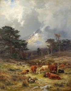 Louis Bosworth Hurt - Braes At Orchy, Argylshire