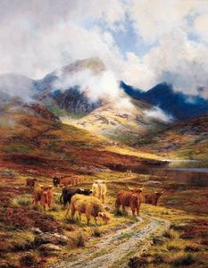 Louis Bosworth Hurt - Hills Of Ross-shire