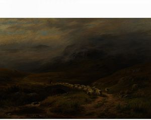 Louis Bosworth Hurt - Morning - Near Crianlarich