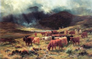 Louis Bosworth Hurt - Near Loch Etive