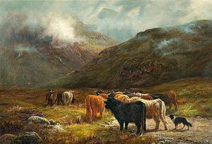 Louis Bosworth Hurt - On The Road From Glencoe