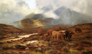 Louis Bosworth Hurt - Over The Moorland, Sligachan, Isle Of Wight