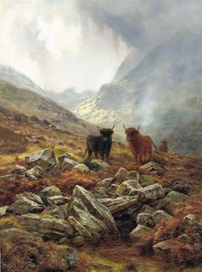 Louis Bosworth Hurt - Scottish Mists