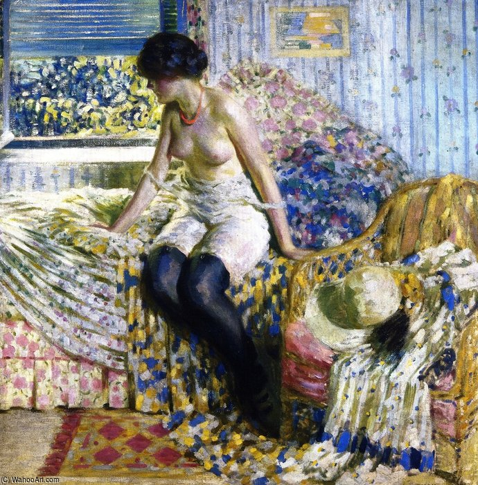 Early Morning by Louis Ritman (1889-1963, Russia)
