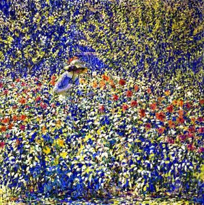 Louis Ritman - Flower Garden
