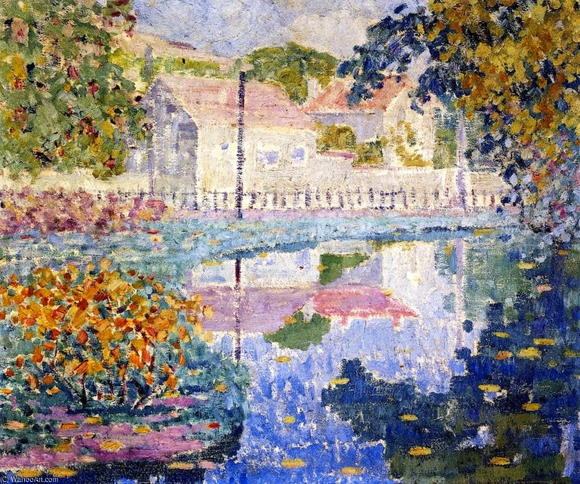 Reflection by Louis Ritman (1889-1963, Russia) | Museum Quality Reproductions | WahooArt.com