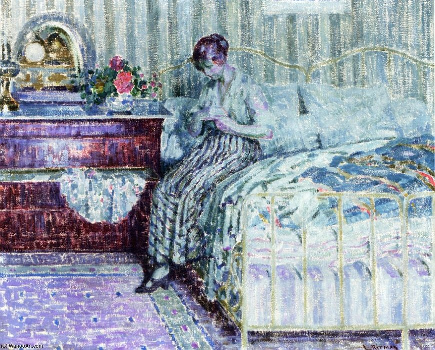 Reminiscence by Louis Ritman (1889-1963, Russia)