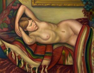 Mark Gertler - Sleeping Nude