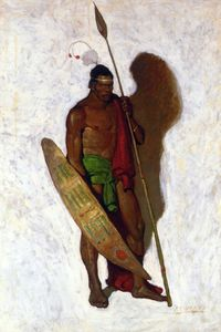 Nc Wyeth - African Warrior