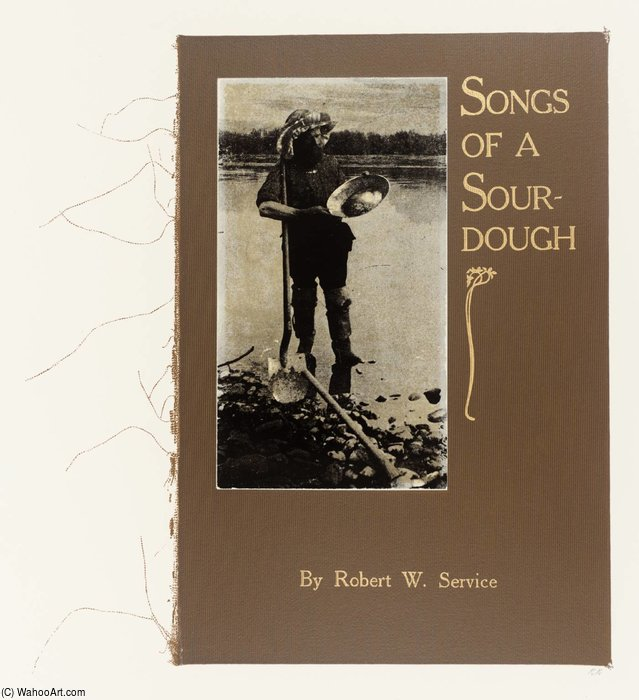 Songs Of A Sourdough by Ronald Brooks Kitaj (1932-2007, United States)