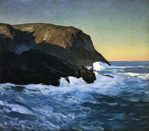 Rockwell Kent - Headlands And Sea