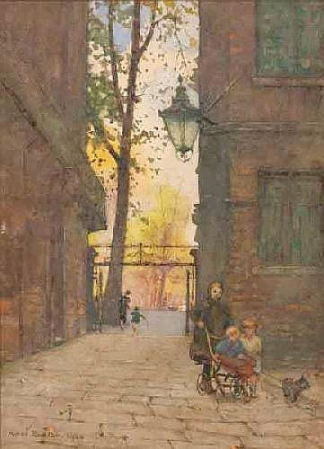 Park Place by Rose Maynard Barton (1856-1930, Ireland)