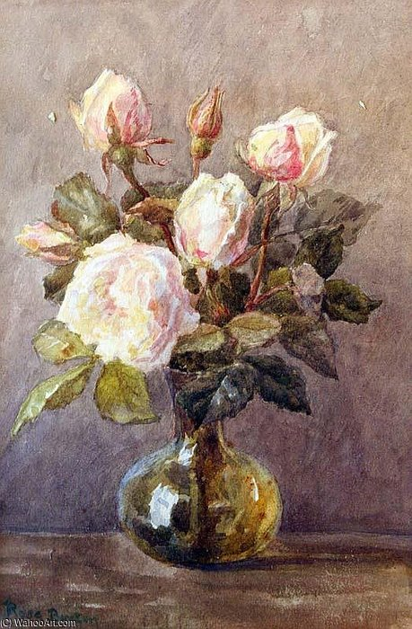 Still Life by Rose Maynard Barton (1856-1930, Ireland)