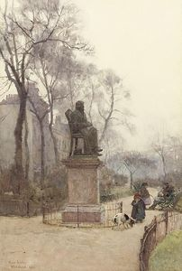 Rose Maynard Barton - The Carlyle Statue